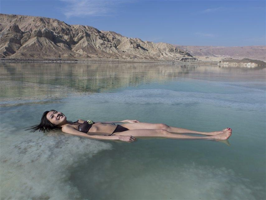DeadSea Woman Float