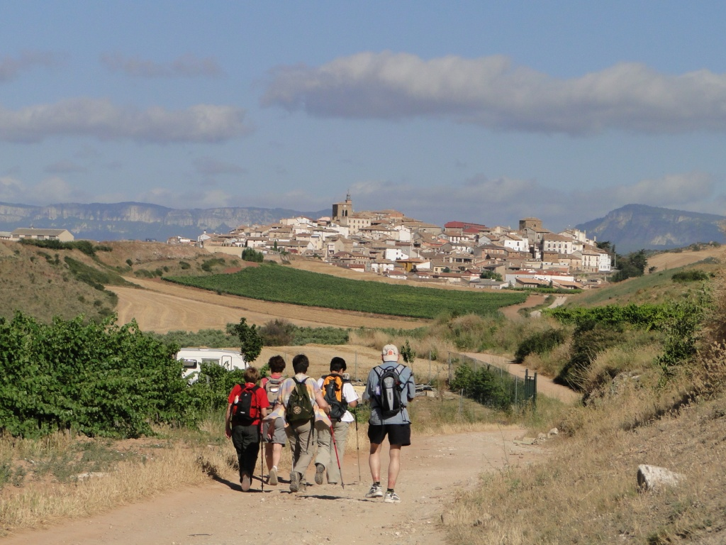 The Camino after pamplona