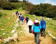 Mt Meron Hike Up