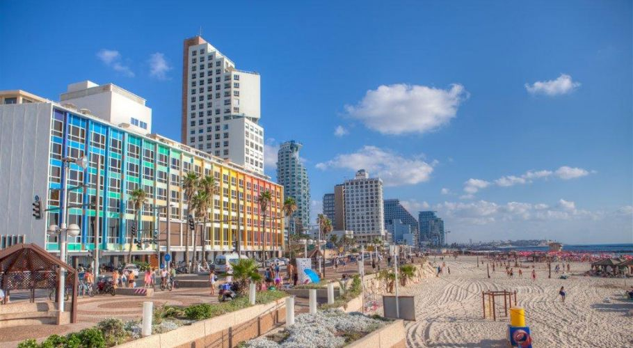TelAviv Promenade Colorful