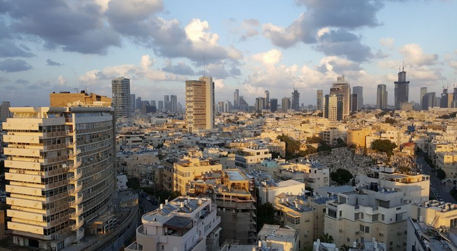 TelAviv Skyline Sunset
